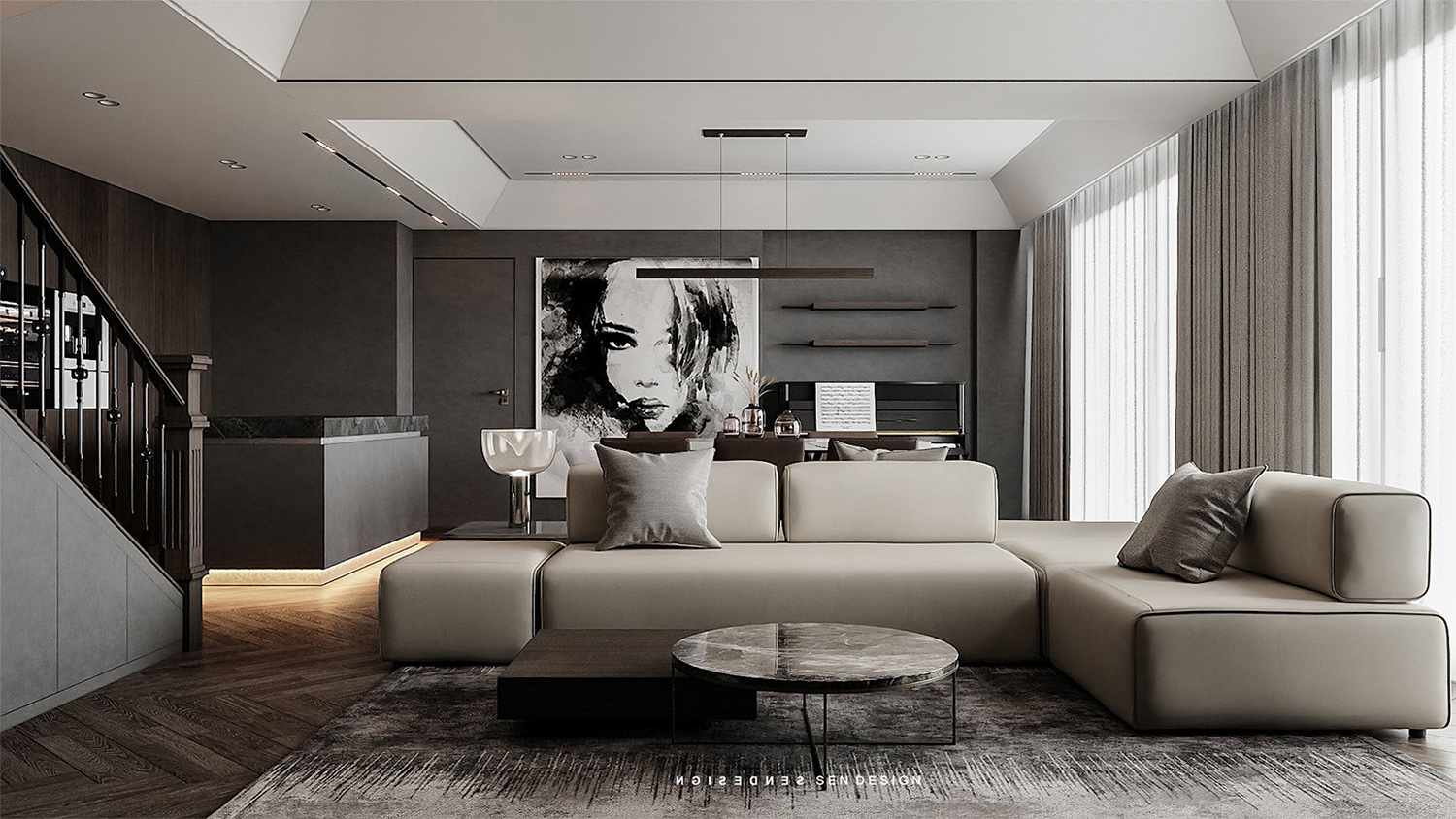 The Godfather DUPLEX SUNGRAND CITY - THUY KHUE